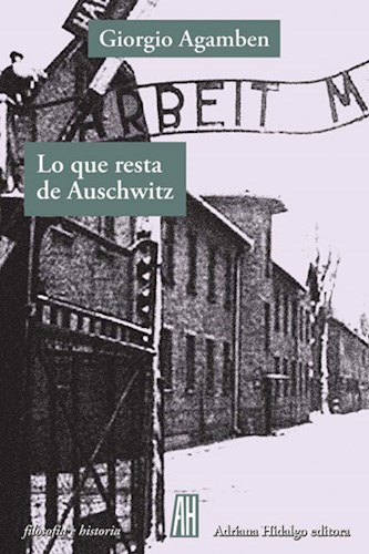 Libro Lo Que Resta De Auschwitz