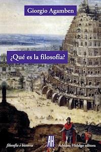 Papel ¿Qué Es La Filosofía?