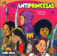 LIBRO LIGA ANTIPRINCESAS