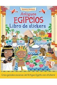 Papel Historia Con Stickers:  Antiguos Egipcios