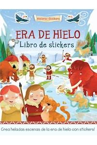 Papel Historia Con Stickers: Era De Hielo