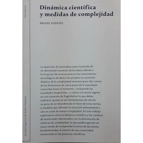 Papel DINÁMICA CIÉNTIFICA Y MEDIDAS DE COMPLEJIDAD