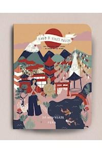 Papel Diario De Viajes Magicos - Tapa Templo