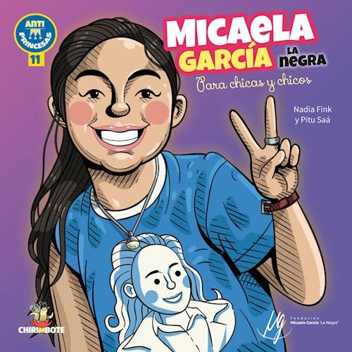 Papel MICAELA GARCIA LA NEGRA PARA CHICAS Y CHICOS