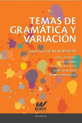 Papel TEMAS DE GRAMATICA Y VARIACION