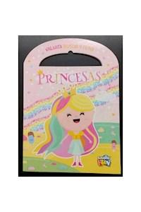 Papel Valijita Busco Y Pinto- Princesas