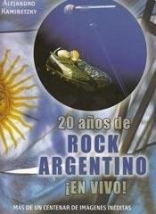 Papel 20 Años De Rock Argentino En Vivo!