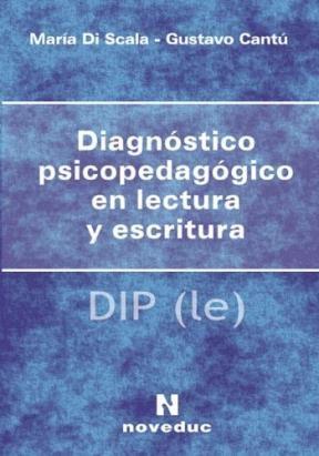 Test DIAGNOSTICO PSICOPEDAGOGICO EN LECTURA Y ESCRITURA
