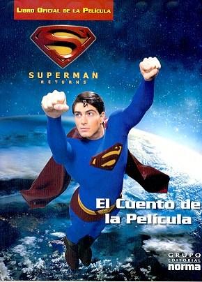 Papel Superman El Cuento De La Pelicula