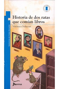 Papel Historia De Dos Ratas Que Comian Libros (+9)