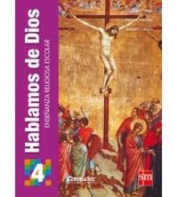 Papel Hablamos De Dios 4º Secundaria: Enseñanza Religiosa Escolar - Novedad 2013