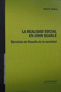 Papel La Realidad Social En John Searle