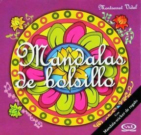 Papel Mandalas De Bolsillo (4) - Tapa Violeta