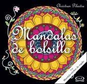 Papel Mandalas De Bolsillo - Negro Con Stickers