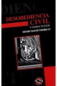 Papel Desobediencia Civil Y Otros Textos