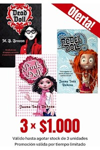 Papel Pack De 3 Libros: Doll