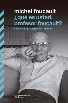 Papel ¿Qué Es Usted, Profesor Foucault?