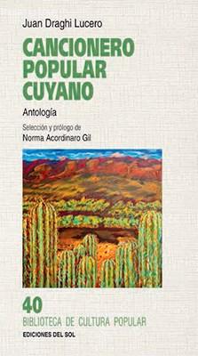 Libro Cancionero Popular Cuyano