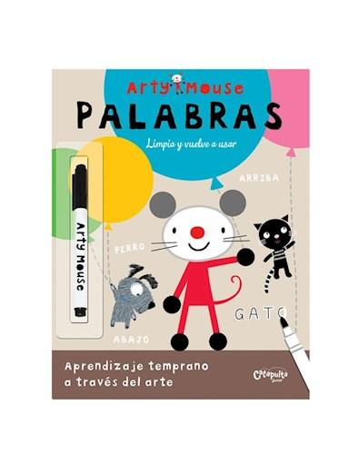Papel PALABRAS LIMPIA Y VUELVE A USAR (INCLUYE MARCADOR) (COLECCION ARTY MOUSE)