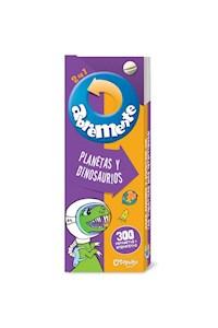 Papel Abremente 2 En 1 - Planetas Y Dinosaurios