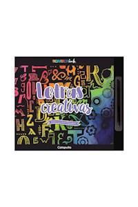 Papel Scratch Ink: Letras Creativas