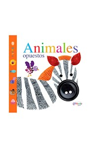 Papel Huellas: Animales Opuestos