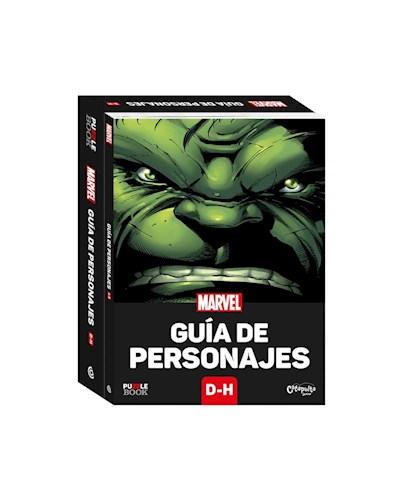 Papel MARVEL GUIA DE PERSONAJES D-H (PUZZLE BOOK) [LIBRO + ROMPECABEZAS DE 300 PIEZAS DE 35 X 30]