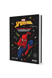 Papel Raspa Descubre Y Colorea: Spiderman""