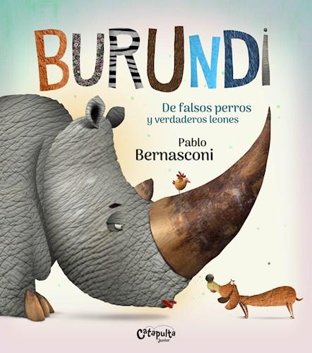 Libro Burundi: De Falsos Perros Y Verdaderos Leones