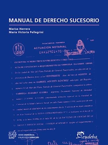 Papel Manual de derecho sucesorio