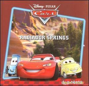 Papel Radiador Springs - Mi Primera Biblioteca Cars