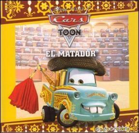 Papel El Matador - Mi Primera Biblioteca Cars