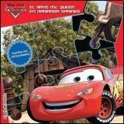 Papel Cars El Rayo Mc Queen En Radiador Springs