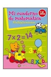 Papel Mi Cuaderno De Matematica - Multiplicaciones