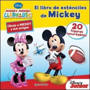 Papel Libro De Estenciles De Mickey, El