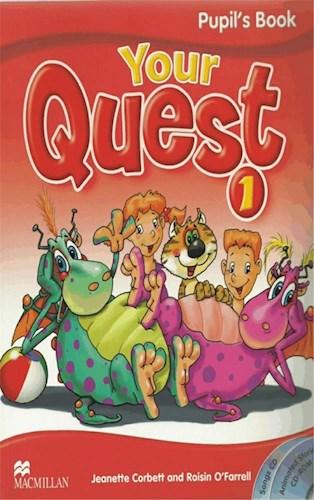 Papel Your Quest 1 - Pack - Pupil`S Book + Activity Book