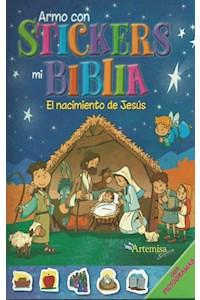 Papel Arma Con Stickers Mi Biblia - El Nacimiento De Jes
