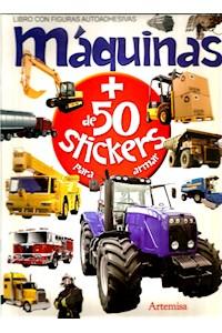 Papel Máquinas - Mas De 50 Stickers Para Armar