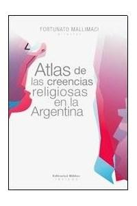Papel Atlas De Las Creencias Religiosas En La Argentina
