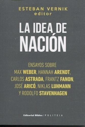 Libro La Idea De Nacion
