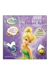 Papel Libro De Estenciles De Tinker Bell, El
