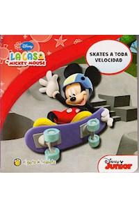 Papel Skates A Toda Velocidad I - Mi Primera Biblioteca - La Casa De Mickey Mouse