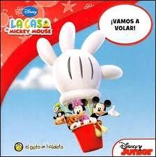 Papel Vamos A Volar I - Mi Primera Biblioteca . La Casa De Mickey Mouse