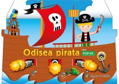 Papel Col. Aventuras (Pop Up) -   Odisea Pirata