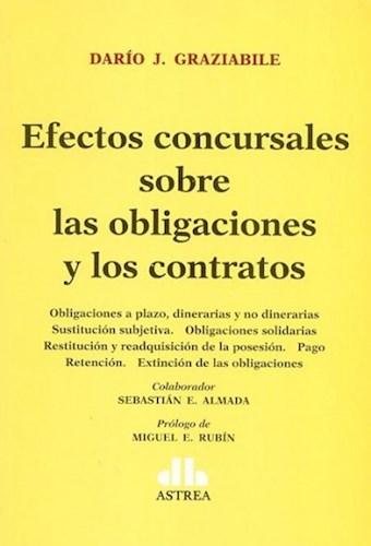 Libro Efectos Concursales Sobre Obligaciones Y Contratos