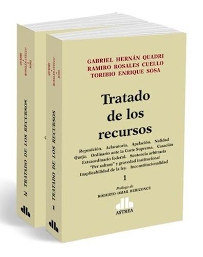 Libro Tratado De Los Recursos ( 2 Tomos )