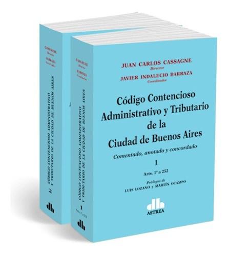 Libro Codigo Contencioso Administrativo Y Tributario De La Ciudad De Buenos Aire