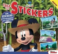 Papel Disney La Casa De Mickey Mause - Crea Con Estickers