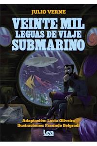 Papel Veinte Mil Leguas De Viaje Submarino