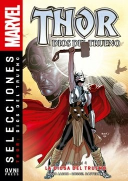 Papel Thor Dios Del Trueno Vol.4 La Diosa Del Trueno